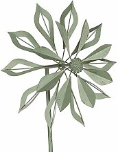 Siena Garden Windrad Passat, Metall, 50 x 23,5 x 200 cm, grau
