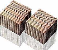 SIENOC 22 Stück/ca. 2 m² Terrassen-Fliese aus