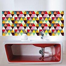 SIER Farbe Dreieck Mosaik Grid Fliese Kreative