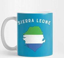 Sierra Leone 324 ml Kaffee-Haferl