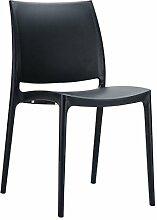 Siesta Kunststoffstuhl/Gartenstuhl/Outdoor Stuhl