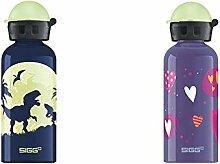 SIGG Trinkflasche Glow Moon Dinos & Kinder