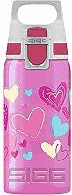 SIGG VIVA ONE Hearts Kinder Trinkflasche (0.5 L),