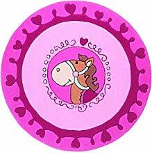 Sigikid Marken Kinder Teppich, rosa, hochwertig