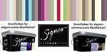 Signeo 2,5 L. Bunte Wandfarbe, CHERRY CREAM, Flieder matt, elegant-matte Oberflächen, Innenfarbe