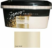 Signeo Wandfarbe Gold Edition 1 L. Cool GOLD