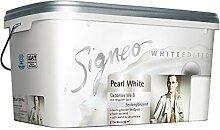 Signeo White Edition, Wandfarbe 5 L. PEARL WHITE,