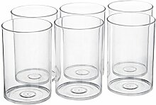 signoraware Kristall klar Glas-Set, 280ml,