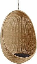 Sika Design Egg Hängesessel Natur Ohne Kissen