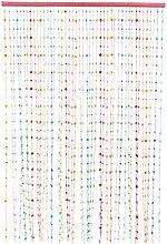 Sil 90 x 180 cm, Regenbogenfarben, Türvorhang