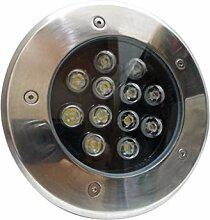 silamp-Spot Außen Einbauleuchte Boden LED