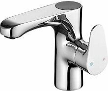 Silber Digitalanzeige Kupfer Wasserhahn Bad