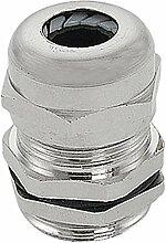 Silber Ton PG11Außengewinde Wasserdicht Kabelverschraubung für 5–10mm Kabel