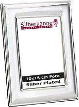 Silberkanne Bilderrahmen Classic für 10x15cm Foto