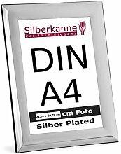 silberkanne Bilderrahmen DIN A4 für Urkunden und