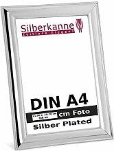 silberkanne Bilderrahmen DIN A4 für Zertifikate
