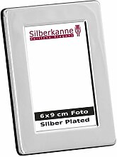 silberkanne Bilderrahmen Neapel 6x9 cm Foto Silber