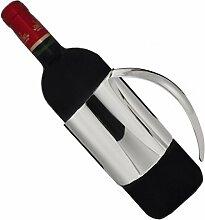 silberkanne Flaschenhalter für Weinflasche