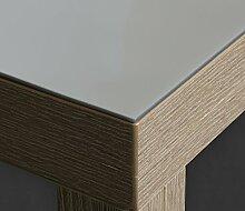 Silbermetallic Folie 2 mm Tischdecke silber Breite 90 cm, Länge wählbar, Schutzfolie Tischschutz Meterware (90 x 1000 cm)