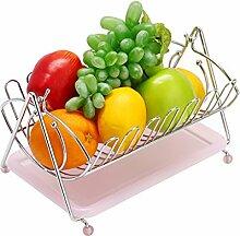 Silberne schwingende Obst-Hängematte,