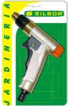 Silbor-Pistole Bewässerung Metalica Mod. 2481