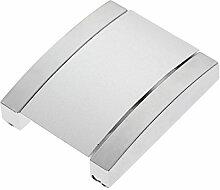 Silbrig Flush Pull Fenstergriff Türgriff Möbelgriff Schrank Schublade-#1