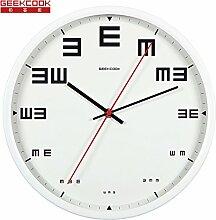 Silent Metal Wohnzimmer Wand Uhr