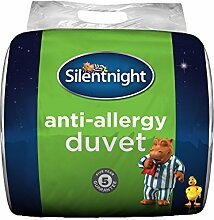 Silentnight Bettdecke für Allergiker, Weiß, Doppelbe