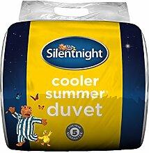 Silentnight Cooler Summer Sommerbettdecke, Tog-Wert 4,5, Doppelbe