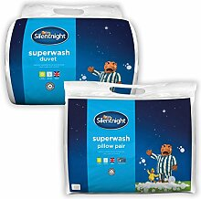 Silentnight Superwash Bettdecke & Kissen Paar -