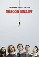 Silicon Valley - Poster Plakat Drucken Bild Poster