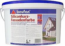 Siliconharz–Fassadenfarbe Baufan