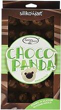 Silikomart 195794 Pralinenform Panda-Bär
