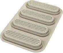 Silikomart 199694 3D-Backform Mini Baguette,