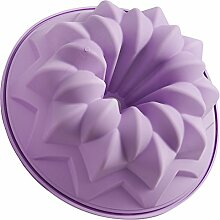Silikomart Silikon-Backform für Weihnachtsbaum Gugelhupf-Backform Lilac