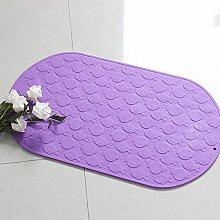 Silikon anti-rutsch badematte/bodenmatte/badewanne mit einem cupule skid pad-D 25x42cm(10x17inch)