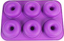 Silikon-Backform Donut, Antihaft-Pfanne - 6