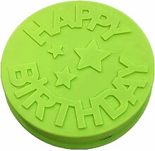 "Silikon-Backform ""Happy Birthday"","