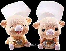 Silikon Backform Süßigkeit Formen Schwein Baby