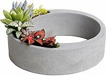 Silikon Formen - Silikon Blumentopf Form Keramik