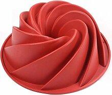 Silikon-Kuchen-Form Große Napfkuchen Pan Swirl