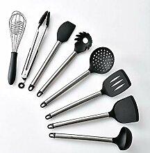 Silikon Küchenutensilien 8 stücke stahlgriff