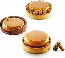 Silikon-Muffin-Formen Kuchen-backen-wannen-Kuchen,