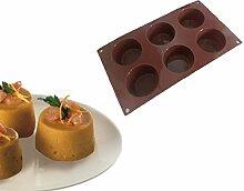 Silikon Muffins Backform 30 x 17 cm H 4 cm - von -