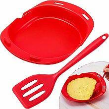 Silikon-Omelette-Maker, Mikrowelle, Omelett-Maker,