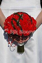 Silk Blooms Ltd Brautstrauß mit Rosen, modern,