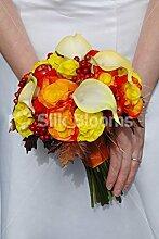 Silk Blooms Ltd Herbst Brautschmuck Hochzeit