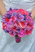 Silk Blooms Ltd Künstliche Brautstrauß mit