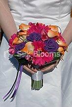 Silk Blooms Ltd Moderner Brautstrauß mit