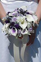 Silk Blooms Ltd Moderner schottischer Brautstrauß
